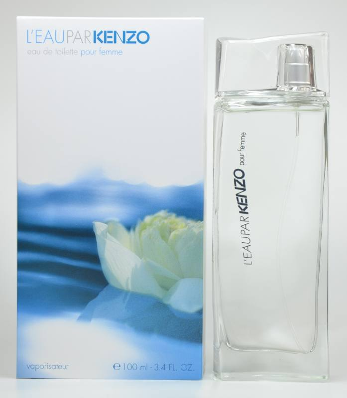 kenzo l 39 eau par kenzo pour femme. Black Bedroom Furniture Sets. Home Design Ideas